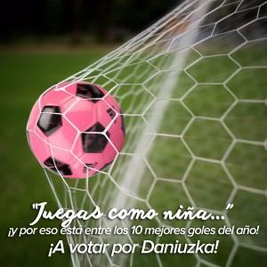 Mi voto es para Daniuska Rodríguez
